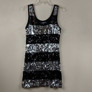 Forever 21 Sequin Tank Top Size L